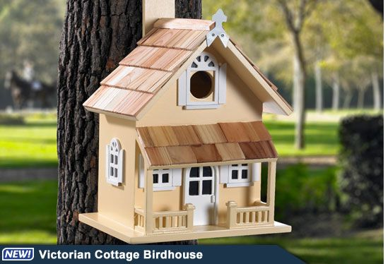 101 Best Cottage Birdhouses Images On Pinterest