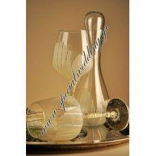 Σετ γάμου καράφα και ποτήρια κρασιού Calla WEDDING SET carafe and wine glasses Calla
