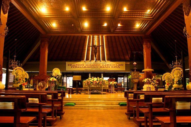 6 Gereja Katolik Cantik Untuk Pernikahan di Jakarta -