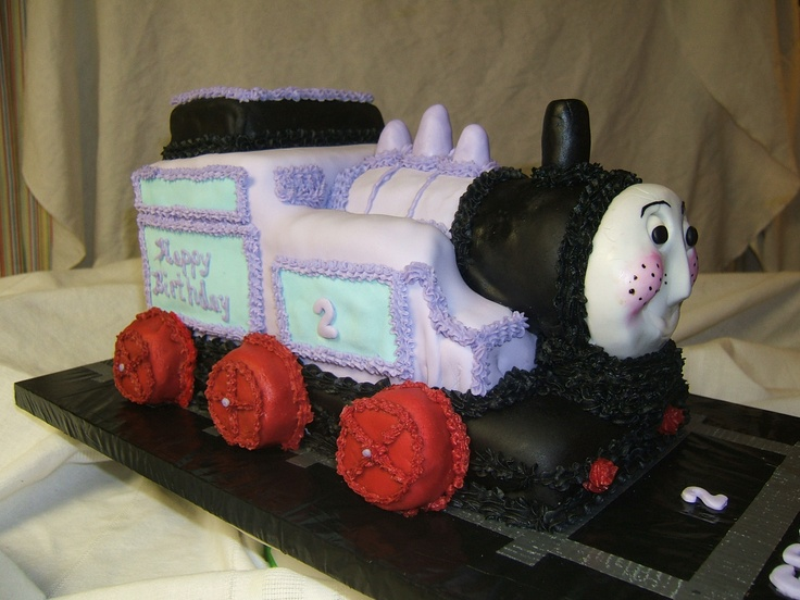 Rosie Cake Design : Rosie the Train cake side view Cakes by Grandma Debbie ...