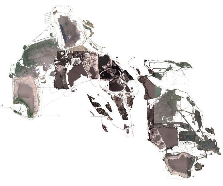 A Satellite Outlook Oil sands, Landmarks, Cartography