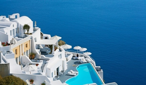 Santorini, Greece: Buckets Lists, Santorini Greece, Favorite Places, Boutiques Hotels, Swim Pools, Beautiful, Katiki Hotels, Travel, Greek Islands