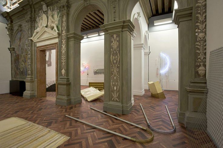 """WHEN ATTITUDES BECOME FORM: BERN 1969/VENICE 2013 The exhibition, curated by Germano Celant in dialogue with Thomas Demand and Rem Koolhaas, reconstructs """"Live in Your Head. When Attitudes Become Form"""", a show curated by Harald Szeemann at the Bern Kunsthalle in 1969, which went down in history for the curator's radical approach to exhibition practice, conceived as a linguistic medium."""
