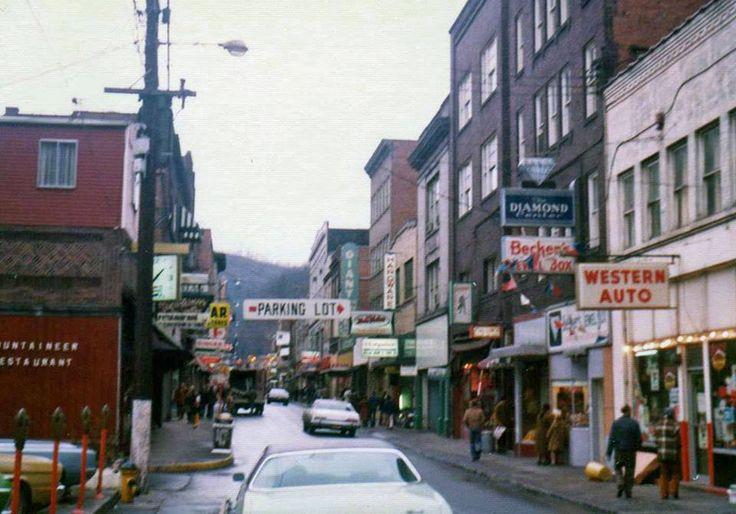 Welch, McDowell County, West Virginia, 1977.