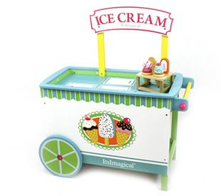 Carrinho de gelados. www.alugarparabrincar.com