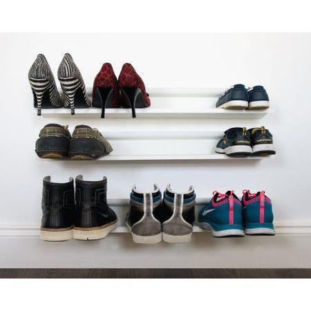 Floating Shoe Rack - Step-by-Step Organization on Joss & Main