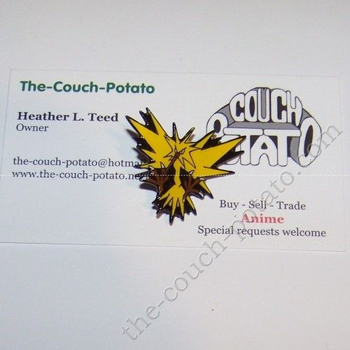 Pokemon Zapdos Pin