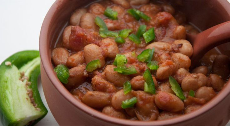Texas pinto beans are served at almost evey barbecue joint in Texas. Here's the recipe for Texas comfort food.