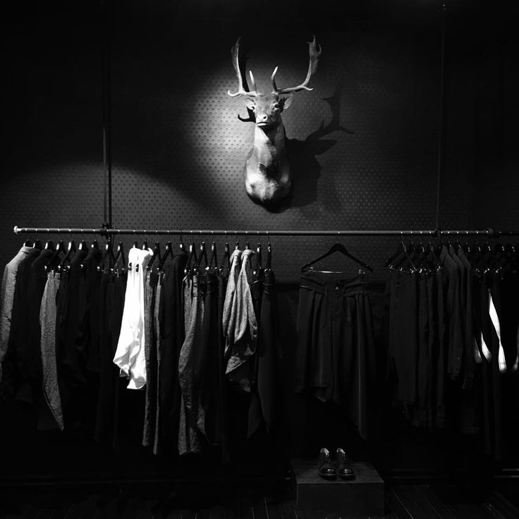 [ FALLOW ] Step beyond the black door and discover cloth and curiosities that exist outside of popular trends... www.fallow.com.au