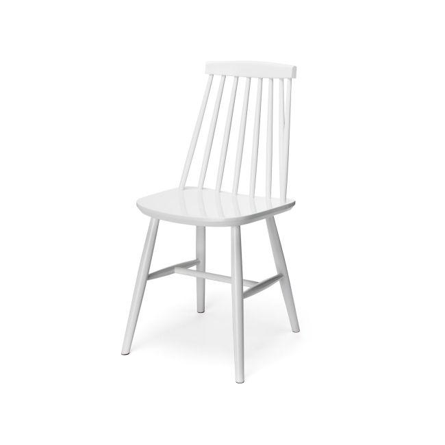 Korsö Pinnstol - Vit - TheHome - Möbler på nätet