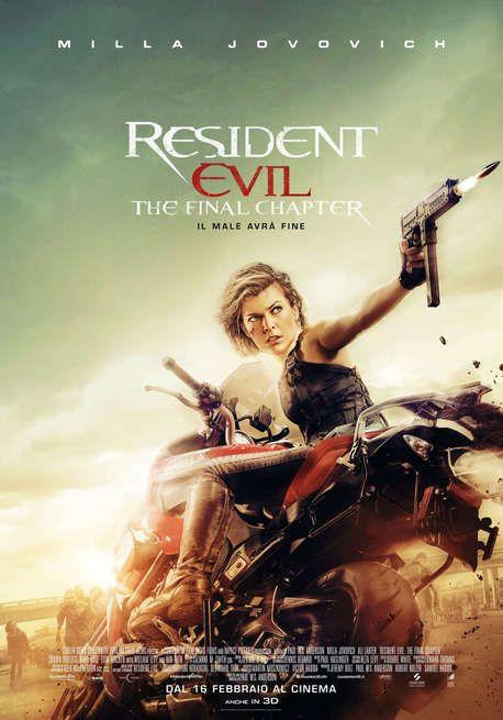 Resident Evil - The Final Chapter Germania, Australia, Canada, Francia: 2017 Genere: Fantascienza Durata: 106' Regia: Paul W.S. Anderson Con: Milla