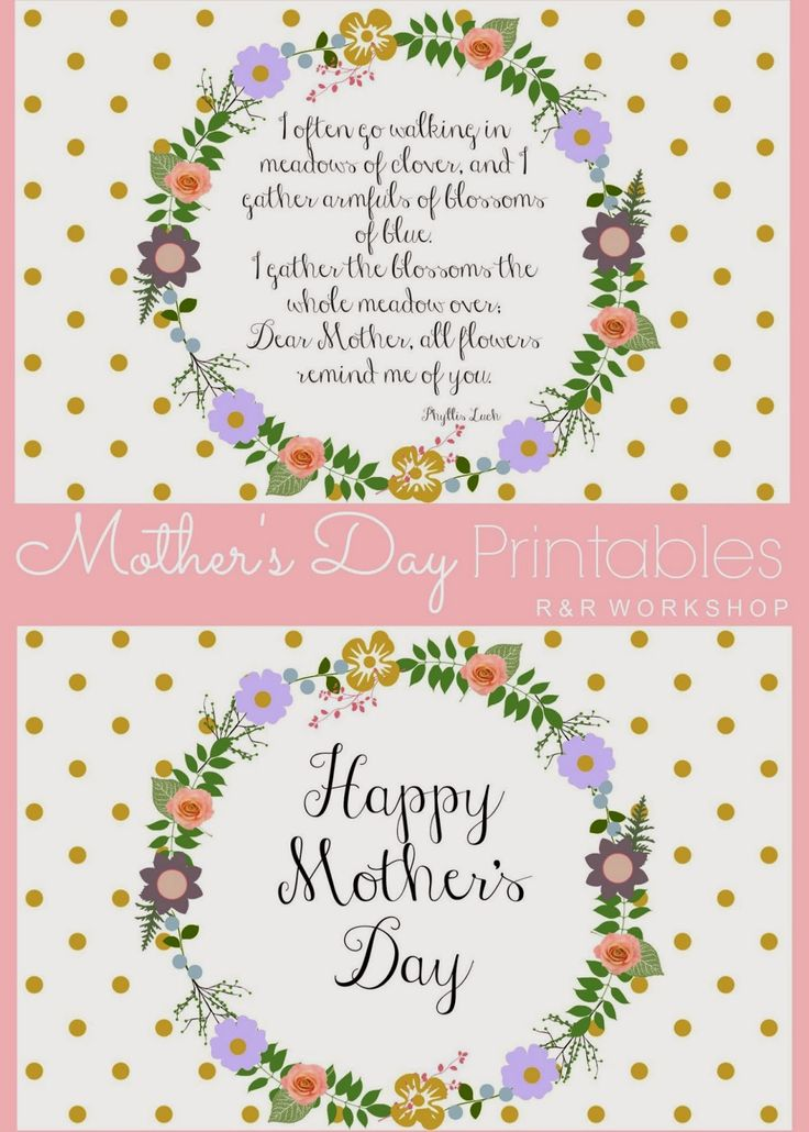 mother 39 s day poem and free printables mothers free printables and mother 39 s day printables. Black Bedroom Furniture Sets. Home Design Ideas