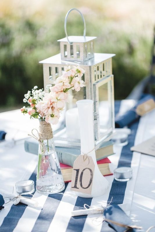 A way to display the table number
