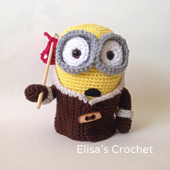 CROCHET PATTERN  Minion BOB movie crochet by Elisascrochet on Etsy
