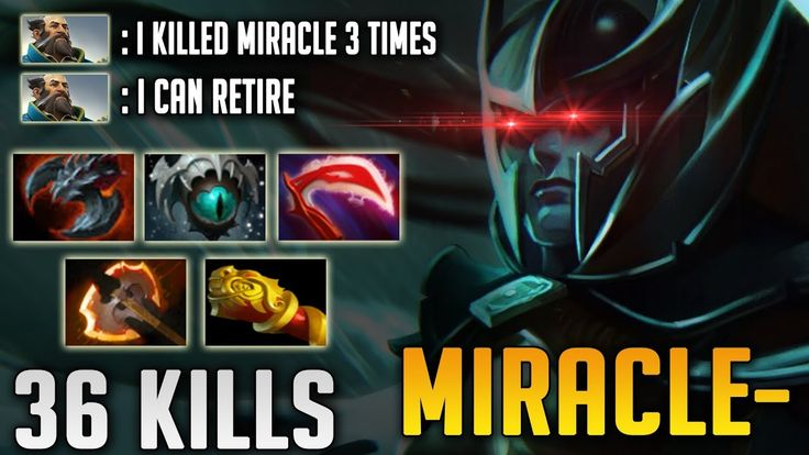 Miracle- Phantom Assassin 7.10 WTF Game | 36 Kills PA Destroyer in 7.10 ...