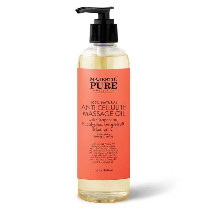 Anti Cellulite Massage Oil #Massages