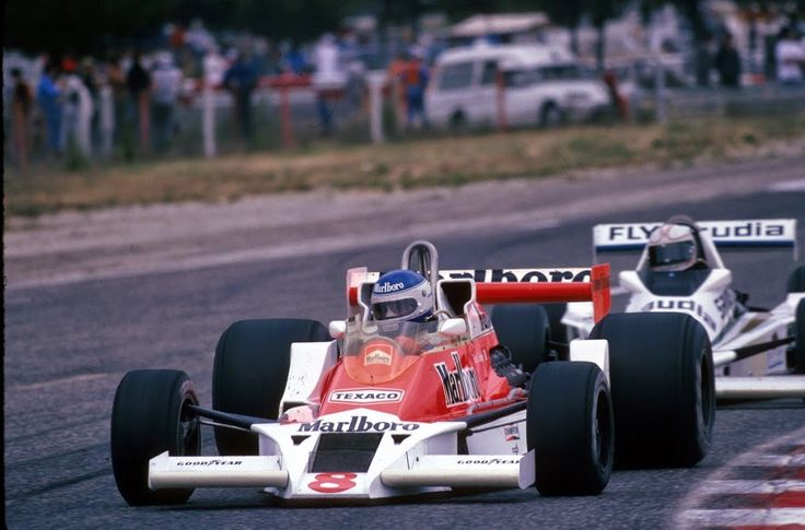 Mclaren X 1 >> McLaren 1978 | St. Patrick Tambay | Pinterest