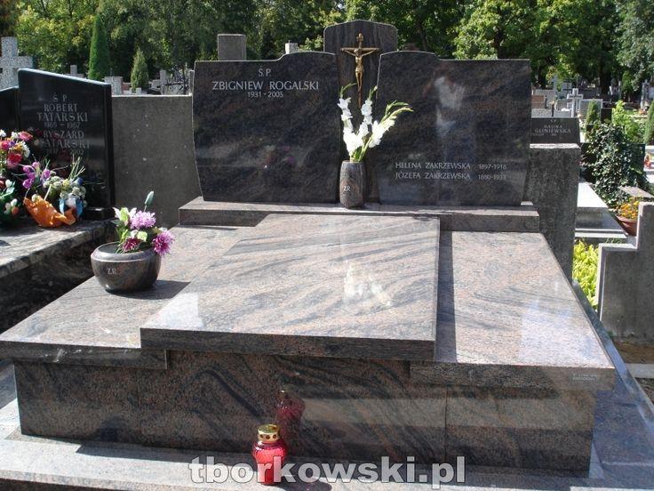 Nagrobki podwójne - Pracownia rzeźbiarsko kamieniarska T. Borkowski