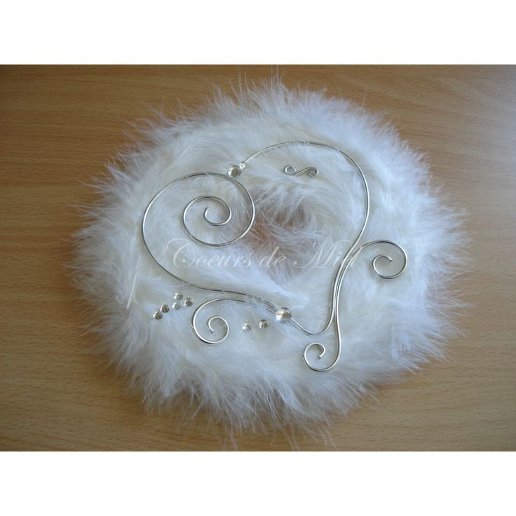 17 best images about coussin mariage on pinterest mariage pink christmas o - Porte alliance original ...