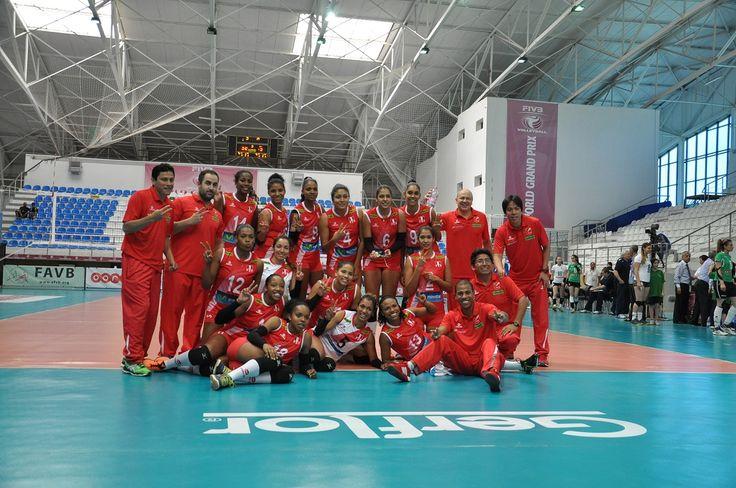 Estación Voleibol: GRAND PRIX: PERÚ 3 MÉXICO 0 - PRIMERA PARADA EN ARGELIA