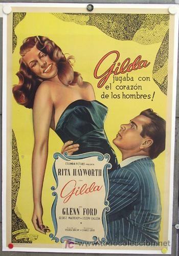 Gilda (1946) Cartel del estreno