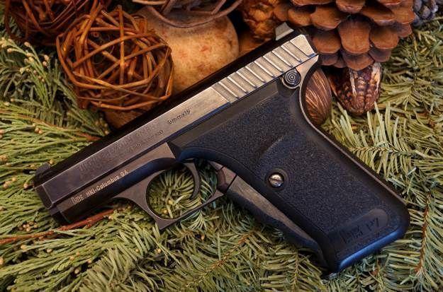 The Heckler & Koch P7 | Best 9mm Handguns For Women | https://guncarrier.com/9mm-handguns-for-women/