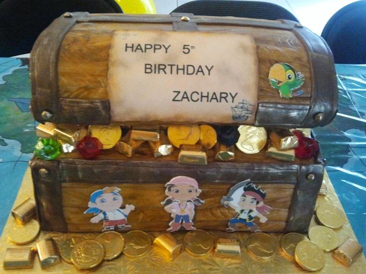 Jake and the neverland pirates cake.
