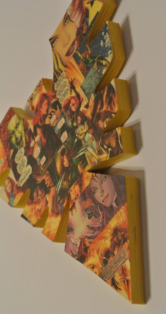 Phoenix Jean Grey Wall Plaque made to order by helloskywalker