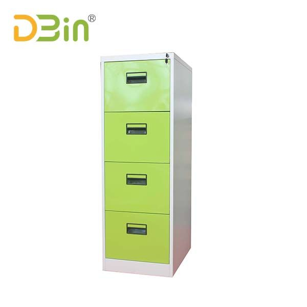 Fresh Green 4 Drawer Steel Filing Cabinet For Interior Decor Filing Cabinet Steel Filing Cabinet Office Furniture Manufacturers