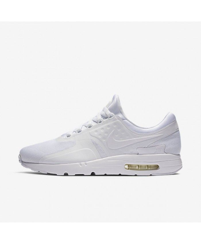 the latest 3be11 eb468 Nike Air Max Zero Essential White Wolf Grey Pure Platinum ...