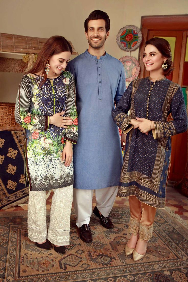 Our Much Awaited Eid Collection is Almost in Stores and Online. Our Shoot Features the Lovely Aiman Khan, Shahzad Noor and Minal Khan. Umair Bin Nasir has done a great job at showing the true brilliance of this collection! #AimanKhan ##Shahzad_Noor #MinalKhan #Edenrobe #EidCollection17 #SummerCasual #PakistaniFashion #PakistaniCelebrities ✨