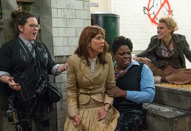 'Ghostbusters' Review: A Slick But Not Quite Ready For Slime-Time Reboot Of Comedy Classic