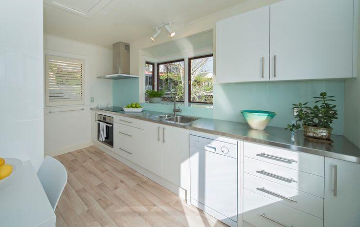 Pale Blue - Kitchen Splashback by Haynes