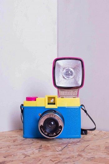 Multicolor Diana F analog Camera by Lomography