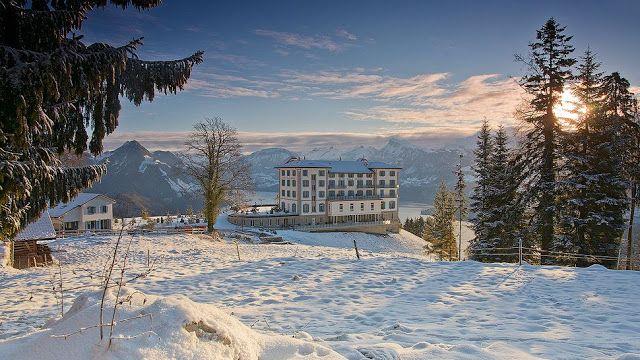 Passion For Luxury : Hotel Villa Honegg Lucerne Switzerland