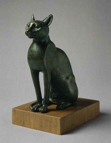 Cat [Egyptian] (56.16.1) | Heilbrunn Timeline of Art History | The Metropolitan Museum of Art