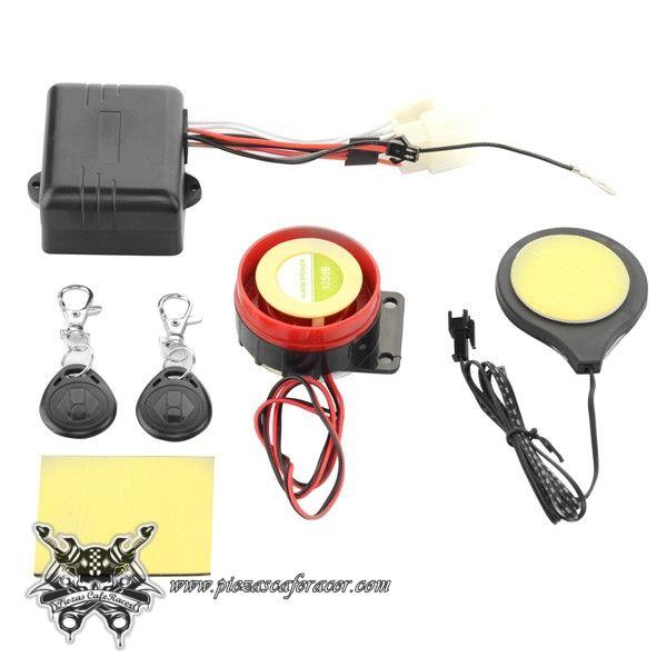 14,19€ - ENVÍO GRATIS - Kit Alarma Moto Quad Funcionamiento por Proximidad 12V