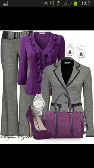 Business suits for a fashionable lady