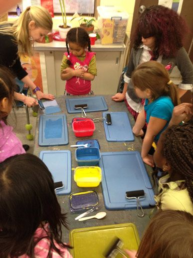 Printmaking at Fort River - The Eric Carle Museum