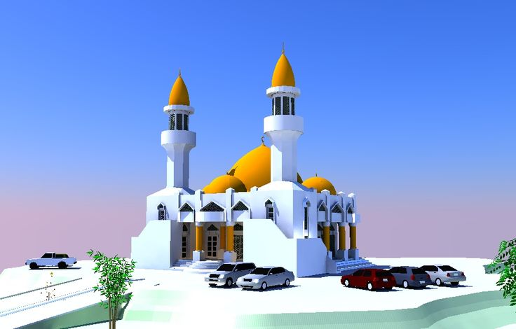 Disain Masjid Type PS-01M  Info @ http://bursa-arsitektur.blogspot.co.id/2012/01/disain-masjid-type-ps-01m.html