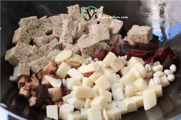 Kao Fu (烤麩) – Wheat Gluten Made Delicious