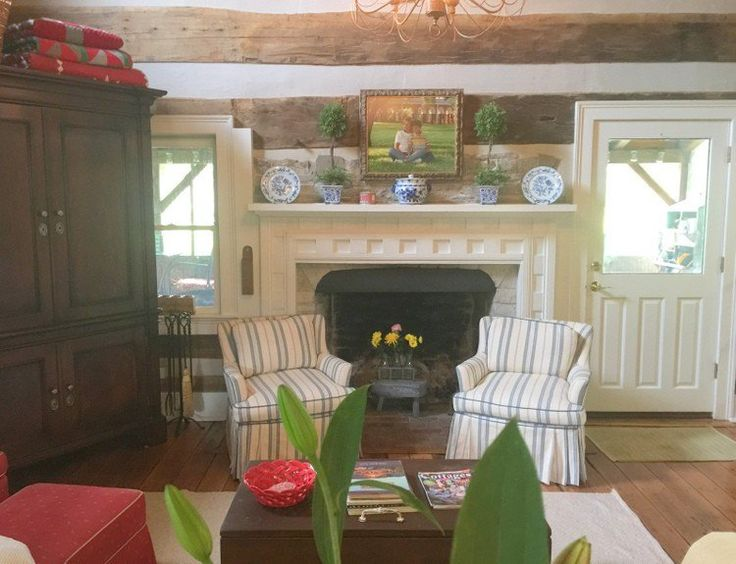 The Best Colors For A Log Cabin Interior Home Tours Pinterest Mantels Home And Colors