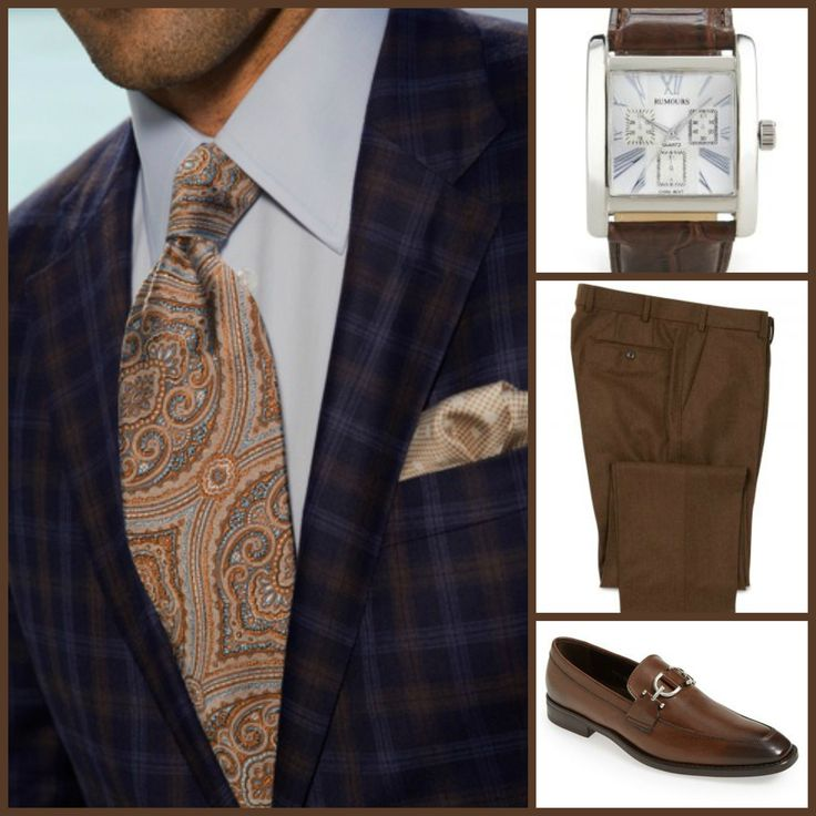 BUSINESS STYLE: Custom(Sport Coat)-Rumours(Watch)-Khakis Of Carmel(Slacks)-Donald J. Phiner(Shoes)