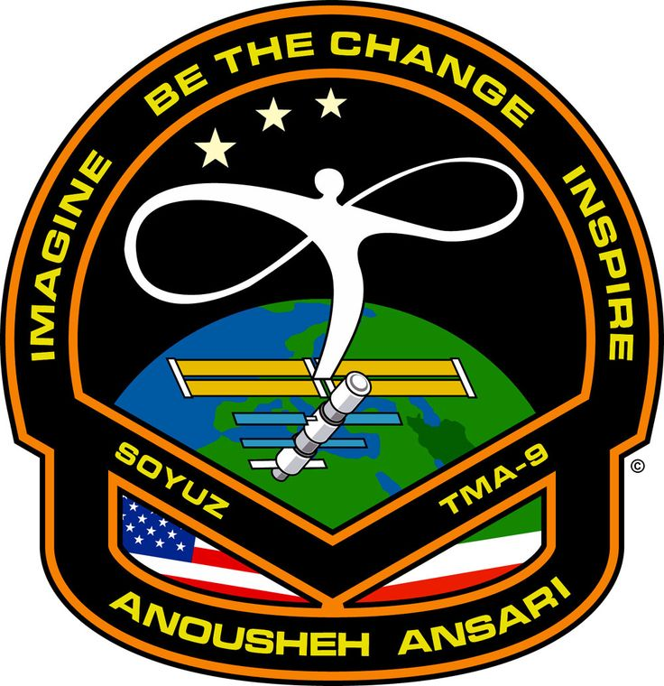 space mission patches | File:Anousheh Ansari space patch.jpg - Wikimedia Commons