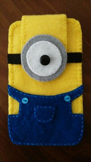 My felt minion case