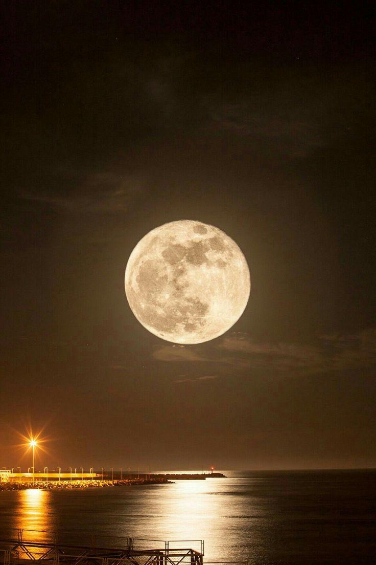 Доброй ночи с луной фото картинки