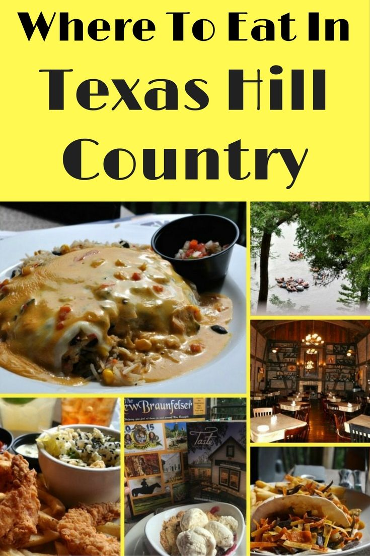 Here is a collection of our favorite eateries in the Texas Hill Country region. The Gruene River Grill was actually my favorite. Gourmet food and an epic outdoor seating area that allows you to watch the tubers floating by. Try the Queso Chicken with cheese fondue. Holy smokes, this is slap yo mama delicious!