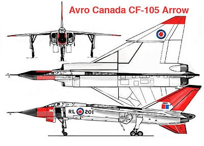 best avro arrow cf images avro arrow  the canadian avro arrow