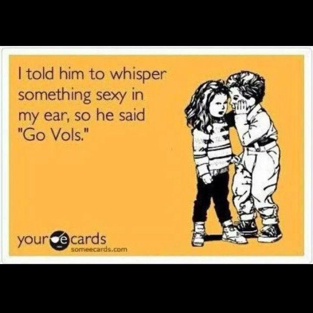 Go Vols!!Bit, Cool Funny, Random Funny, Quotes, Rocky Tops, Bleeding Orange, Big Orange, Baby, Tennessee Football