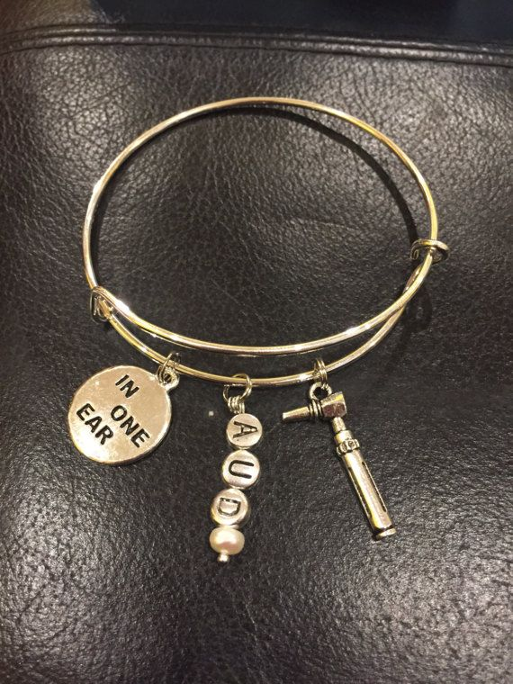 Audiology adjustable bracelet, otoscope, audiology student ...